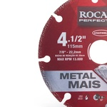 Disco de Corte Diamantado Metal Mais 115mm 412,0001 ROCAST