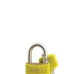 Cadeado Cores Amarelo 30mm - LT-30 - PADO