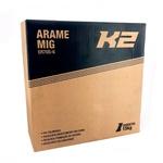 Arame de Solda MIG ER70S-6 1,2mm - K2