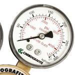 Regulador de Pressão Série 700 p/ Cilindro Oxigênio - 010403010 - Carbografite