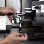 Micrômetro Externo Digital 0-25mm 0,001mm c/ Saída de Dados 293-140-30 - Mitutoyo