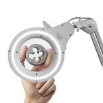 Luminária Led 7W com Lupa 5pol aumento 5 Diopter Bivolt 60Hz 111,0001 NOLL