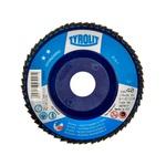 Disco de Lixa Flap Plano 115mm Grana 40 - Standard 28N - 847917 - TYROLIT