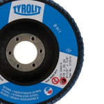 Disco de Lixa Flap Angular 115mm Grana 60 - Basic - 273810 - TYROLIT
