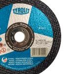 Combo Disco de Corte 2 Telas 7'' x 1/8'' x 7/8'' - Basic 2in1 - 223000 - TYROLIT