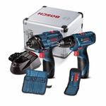 Combo Furadeira/Parafus. GSR 120-Li + Chave Parafus. GDR 120-Li + Brindes - Bosch