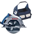 Kit Bosch Serra circular GKS 150 127V + Bolsa + Brindes - Bosch