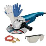 Kit Bosch Esmerilhadeira 9Pol. GWS 2200-230 220V + Brindes - Bosch