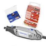 Combo Micro Retífica Profissional Dremel 3000 Com 160 Acessórios DREMEL 110V