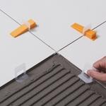 Espaçador Nivelador de Pisos Tradicional 1mm (Pacote com 50 Unidades) - Cortag