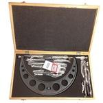 Micrômetro Externo Analógico 6 Batentes Intercambiáveis 150 a 300mm 2,0016 ZAAS