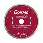 Disco de Corte Diamantado Profissional Plus 200mm 8Pol. 7.600rpm - Cortag