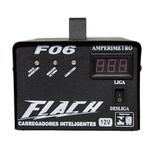 Carregador Inteligente de Bateria 6A-12V Bivolt F06 - Flach