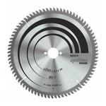 Disco de serra circular Bosch Optiline Wood ø254, furo de 30 mm, espessura de 1,8 mm, 80 dentes