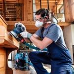 Disco de Lixa Bosch M480 Best for Wood & Paint; 125mm G120 Pacote com 5 unidades