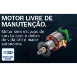 Parafusadeira e Furadeira de Impacto de ½'' Bosch GSB 18V 50, 18V, 2 Baterias 2,0Ah, 1 Carregador Rápido BIVOLT em Maleta