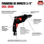 Furadeira de Impacto Skil 6600 570W 127V