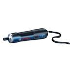 Parafusadeira a Bateria Bosch Go 3,6V BIVOLT com 32 Bits, 1 Cabo USB em Maleta