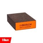 Espuma Abrasiva Bosch Best for Flat Edge; 69x26x97mm Medium (10 Unidades) - BOSCH