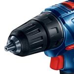 Parafusadeira e Furadeira a Bateria de ½'' Bosch GSR 180 LI,18V, com 2 baterias 1,5Ah, 1 Carregador Rápido BIVOLT em Maleta
