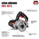 Serra Mármore Skil 9815 1200W, com 2 Chaves