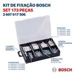 Kit de Fixação com Brocas, Pontas, Parafusos e Pregos 173 uni. Bosch