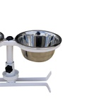 Comedouro Pet Duplo Tigela Inox 400ml - FERCAR