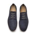 Sapato Masculino Derby Azul Guiné