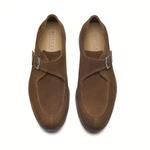 Sapato Masculino Monk Strap Ferrugem Doheny
