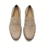 Sapato Masculino Loafer Marfim Malibu