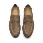 Sapato Masculino Loafer Kaki Manly