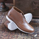 Chukka Boot Masculina Brown Liku