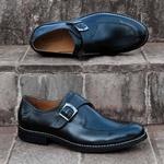 Sapato Masculino Monk Strap Preto San Onofre
