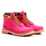 Bota Masculina Tratorada Jhon Boots Pink
