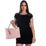 Bolsa Feminina Luxo D'Flora Rosa