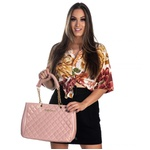 Bolsa Feminina Luxo D'Flora Rose