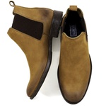 Botina Chelsea Boots Rato couro legítimo