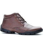 Bota Casual Adventure Rota Shoes Café 100% Couro