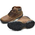 Bota Casual New Adventure Rota Shoes Whisky 100% Couro