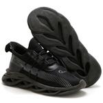 Tênis Esportivo Masculino Fit Para Treino Option Mid Black