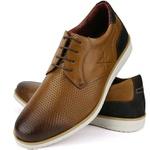 Sapato Casual Oxford Masculino Confortável Castor