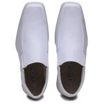 Sapato Social Masculino Confortável Solado em Borracha Branco