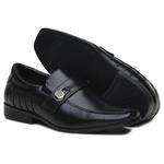 Sapato Infantil Masculino Confortável Solado em Borracha Preto