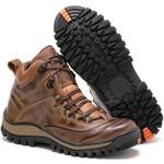 Bota Adventure Rota Shoes Taupe Machado 100% Couro