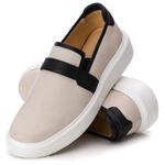 Loafer Iate Masculino Premium Couro Legítimo Branco