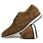 Sapato Masculino Oxford Brogue Couro Legítimo Castor