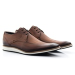 Sapato Casual Masculino Oxford Solado em Borracha Nescau