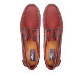 Deckshoes MAKAPU Naturalle Vermelho - Docksides Samello