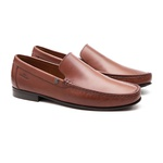 Mocassim s/c ASTRA Castanho - Sapato Masculino Loafer Samello