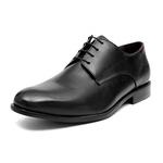 Social s/c LINEA Preto - Sapato Masculino Napa Mestiço Samello